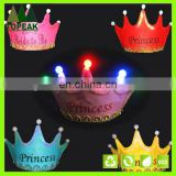 Children's birthday luminous Imperial crown party supplies hats gift
