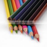12 Colors High Quality Triangle Wood Colored Pencil Set