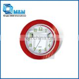 Give away promotional Round clocks for the elderly