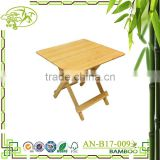 China manufacture furniture natural dining table wooden folding table Folding wooden Dinner