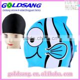 Swimming Cap for Kids Boy or Girl Silicon Kids Ramdon Cartoon Swim Cap