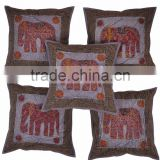 Indian Block Printed Cushion Cover, Home Decore Cushion Cover