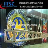 2M dia circular truss system for indoor events in Kazakhstan
