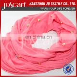 scarf accessories jewelry solid color with rivet scarf jewelry