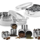 cruet/spice bottle/stainless steel shaker/condiment jar