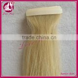Most Popular Wholesale Price Brazilian Virgin Remy Blonde Tape Hair Extension