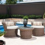 Stylish rattan chair