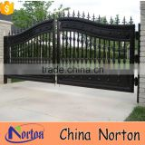 garden used simple design wrought iron gate NTIRG-001L