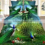 hot sell colorful decorative flower design digital printed bed skirt factory