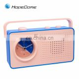 China Retro Promotional Digital Desk Portable Mini FM Radio