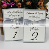APC007 Handmade Wedding Table Number Card