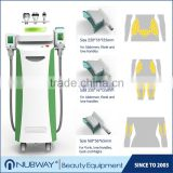 Double air pumps, double magnetic valves body sculpting machine fat freeze treatment with 3 years warranty
