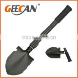 carbon steel foldable military shovel