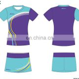 women good quality custom badminton jersey