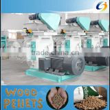 Eco-friendly renewable bioenergy machinery Wood pellet manufacturing equipment for the biomass pelleting industry