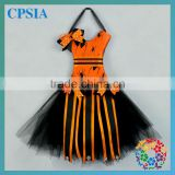 HOT!promotional products halloween tutu dress bow holder halloween spider design