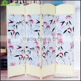 Alibaba Express Canvas Folding Screen Room Divider Canvas folding screen, home divider door folding soundproof screen GVSD021