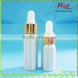 e cig dropper bottles 15ml aluminum dropper bottle with glass dropper and child proof seal