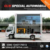 hot selling P10/P8/P6/P5 mobile led adversting truck for sales