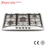 Jiaye Stainless steel gas hob/90cm kitchen gas stove/Built in 5 burner gas cooker  JY-S5007