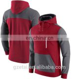 100% poly material hoodie for men