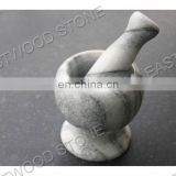 offer good quality and nice color white marble mortar and pestle