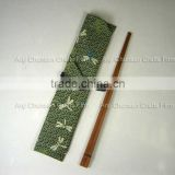 Cotton Bag Bamboo Travel Set chopsticks