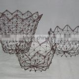 Iron Wire Basket,Wire Basket,wire bread baskets