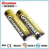 High capacity battery lr6 size aa am3 1.5v alkaline battery