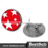 Cheap Wholesale Sublimation Christmas Stud Earrings