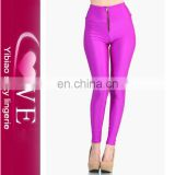 import items slimming smooth colorfuls with zipper winter leggings for women of China