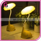 Hot selling night lighting lamp portable LED eleplant cute desk lamp night light