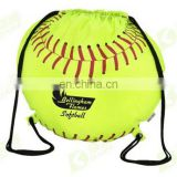 Popular Hot sale sports polyester wateproof soccer ball bag with drawstring