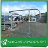 Austrial safety fencing barriers airports used handrail stanchion construction