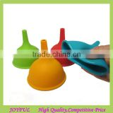 Food Grade Good Kichen Helper Kitchen Mini Silicone Oil Funnel