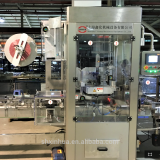 Tape shrink sleeve labeling machine