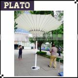 Egypt 3.5m diameter flower tulip umbrellas for outdoor events