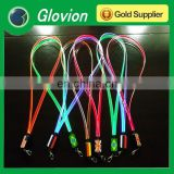 NEW party LED lanyard led flashing lanyards led flashlight necklace
