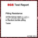 SGS Test Report for Pilling Resistance(ASTMD3512)