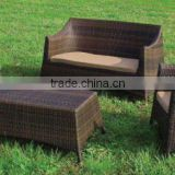 Plastic PVC rattan sofa wicker sofa set
