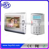 HSY-VDP3 4 Wire 7inch TFT Monitor CMOX Camera Doorbell Wired Door Phone Video Intercom Unlock