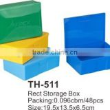 High Quality Multi-Funcational Rect. BoxTH-511