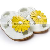 Flower girls children sandal shoes 2016 summer baby sandals moccasins M6061102