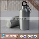 400ml aluminum waterbottles with sublimation coating ,silver painting