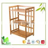 Easily Carry multifunction bamboo kitchen cupboard shelf