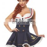 Sweetie fashion design Cheapest Sailor Carnival costume for wholesale AGC040