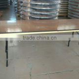 high quality plywood folding long table/plywood rectangular banquet table