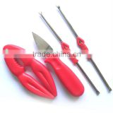 seafood tools lobster cracker oyster knife lobster forks