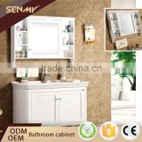 Product Manufacturing Quartz Stone White Vanity Top Mirror Free Standing Bathroom Cabinets