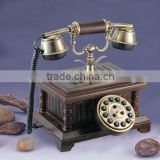 Solid wood telephone antique